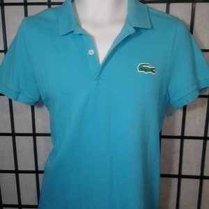 Lacoste Live Polo Shirt Size 4 (Small) Light Blue